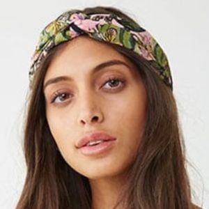 Floral Foliage Print Headwrap